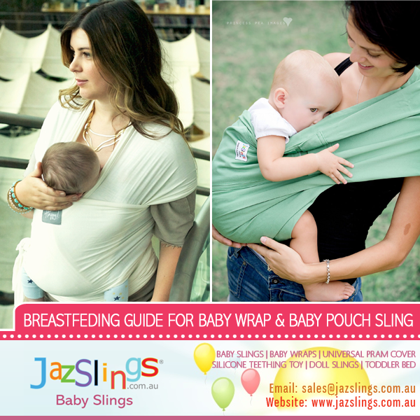 Breastfeeding Guide For Baby Wrap And Baby Pouch Sling Jazslings